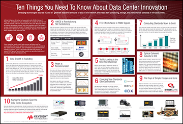 Image of Ten Things You Need To Know About Data Center Infrastructure Innovation poster