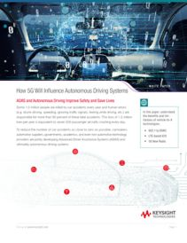 How 5G Will Influence Autonomous Driving Vehicles