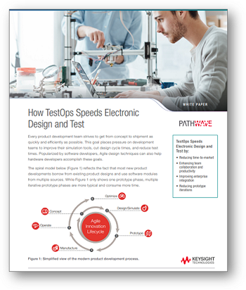 How TestOps Speeds Electronic Design and Test