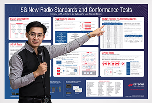 5G New Radio Standards and Conformance Tests poster body image