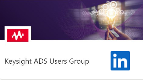 Join our PathWave ADS User Group on LinkedIn