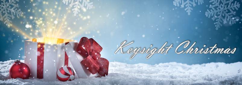 Keysight Christmas