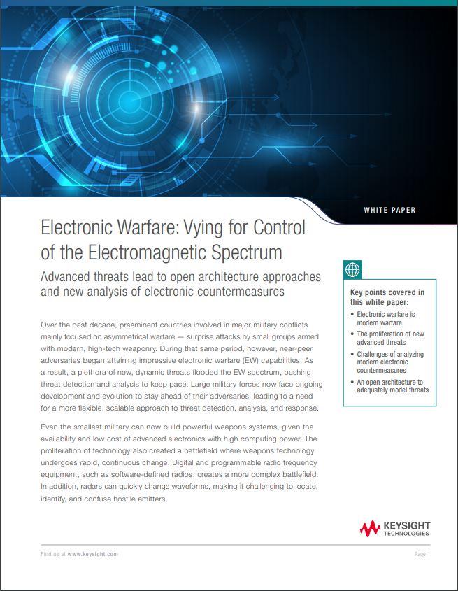 Electronic Warfare White Paper