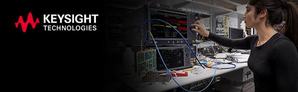 Engineer with UXA Signal Analyzer